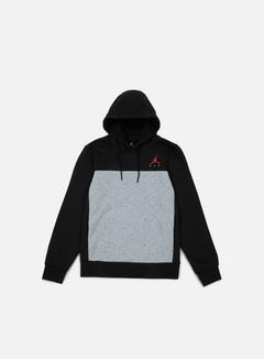 Jordan - Flight Fleece Cement Hoodie, Black 1