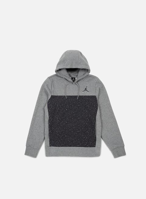 Hooded Sweatshirts Jordan Flight Fleece Cement Hoodie