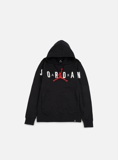 Jordan - Flight Fleece Graphic Hoodie, Black/Anthracite 1