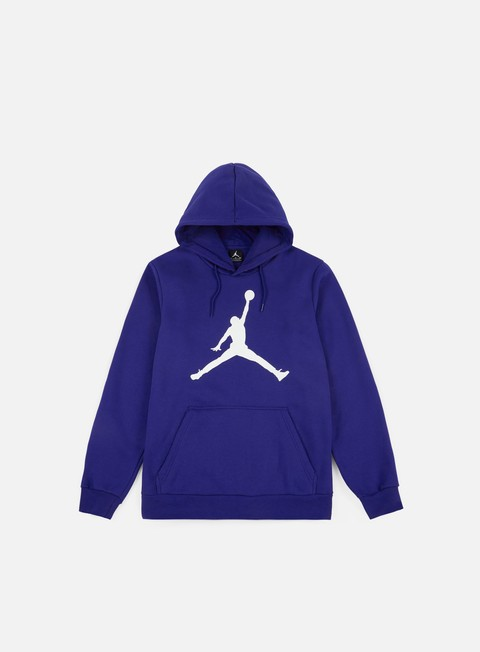 felpe jordan flight fleece jumpman air hoodie deep royal blue white