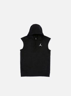 Jordan - Flight Fleece Lite Sleeves Hoodie, Black/White 1