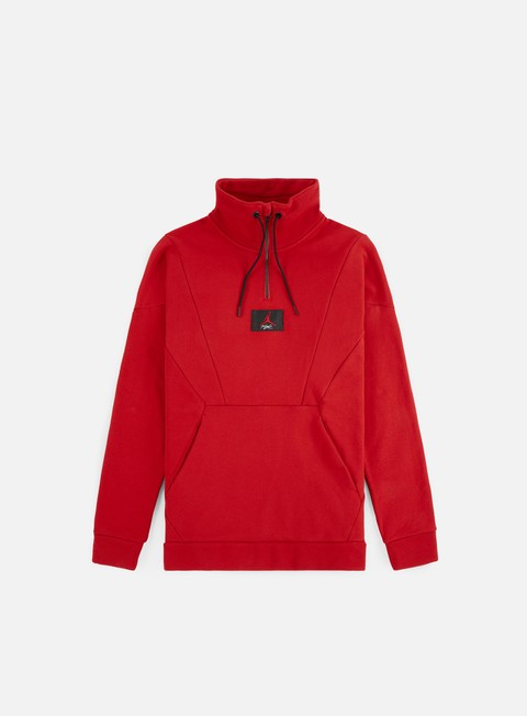 Felpe con Zip Jordan Flight Loop Half Zip Sweater
