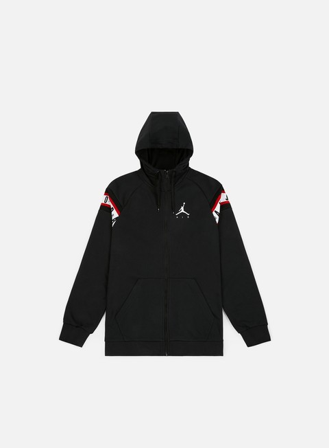 felpe jordan jumpman air hbr hoodie black white