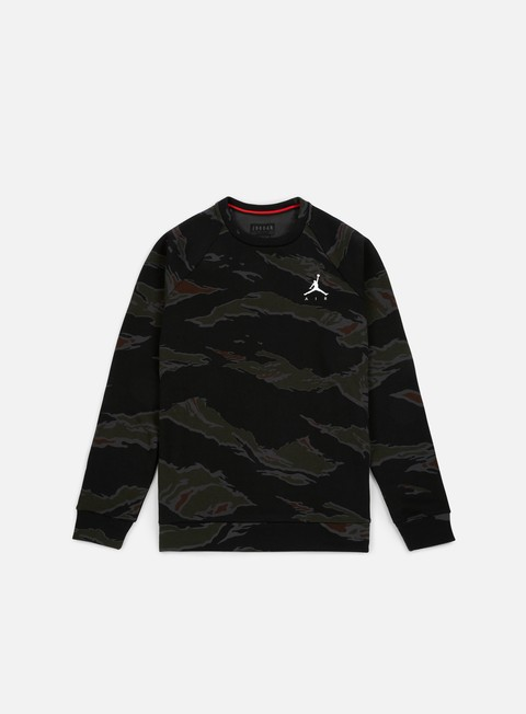 Outlet e Saldi Felpe Girocollo Jordan Jumpman Fleece Camo Crewneck