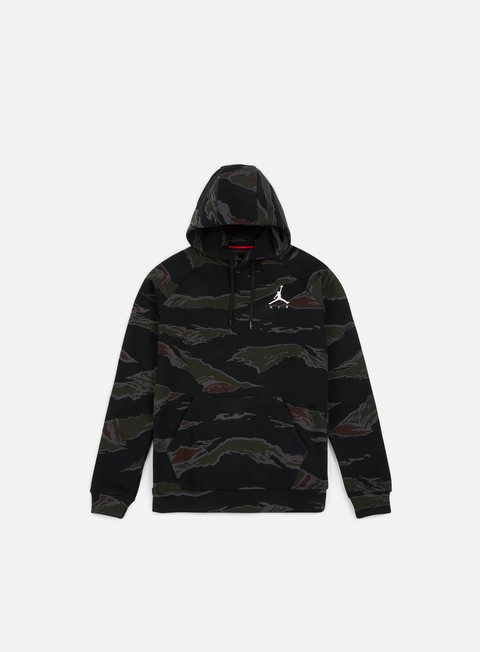 felpe jordan jumpman fleece camo hoodie black white