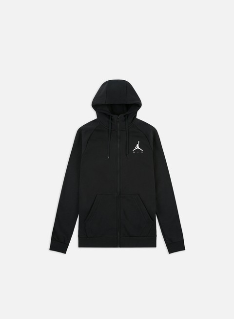 Zip Sweatshirts Jordan Jumpman Fleece Full Zip Hoodie