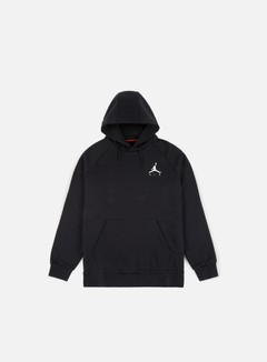 Jordan - Jumpman Fleece Hoodie, Black/White