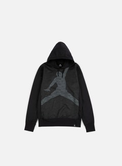 Jordan - Jumpman Graphic Brushed Hoody, Black/Cool Grey 1