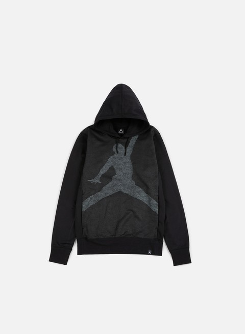 felpe jordan jumpman graphic brushed hoody black cool grey