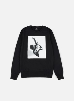 Jordan - Legend Flight Lite Crewneck, Black 1