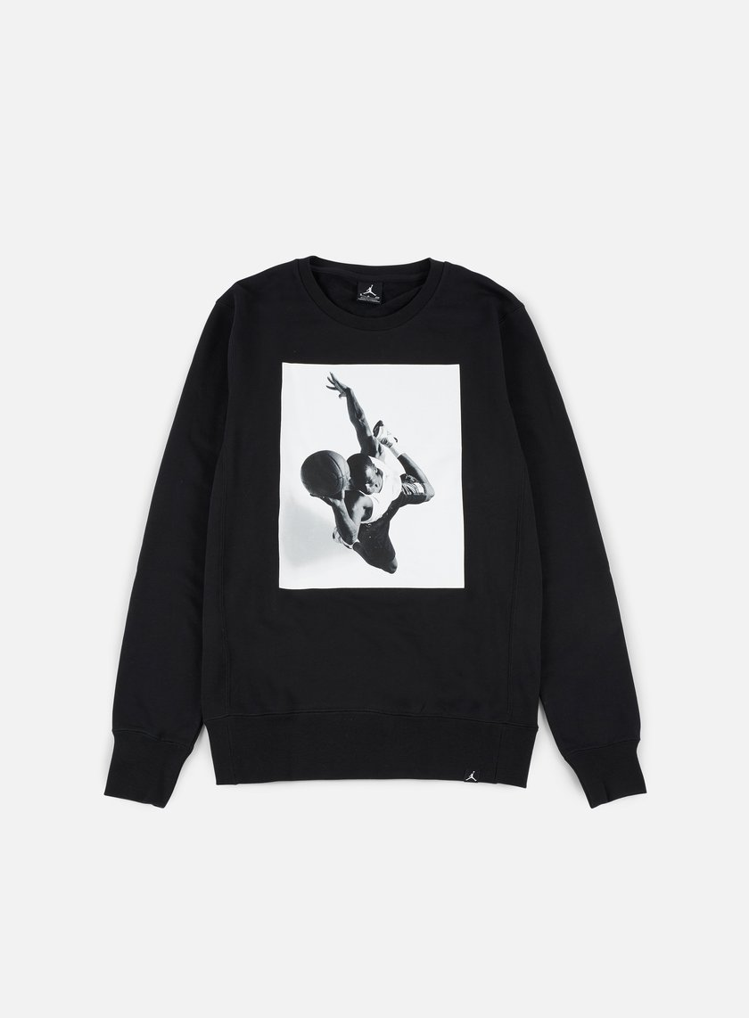 Jordan - Legend Flight Lite Crewneck, Black