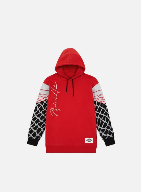 felpe jordan nrg pinnacle hoodie university red black