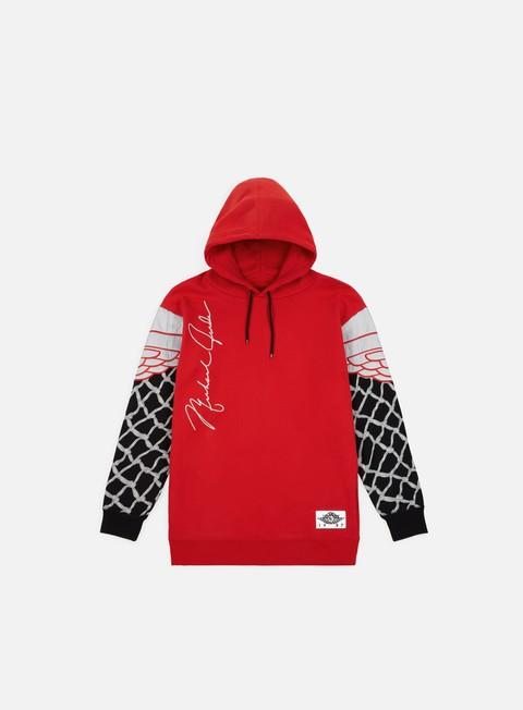 felpe jordan nrg pinnacle hoodie university red black