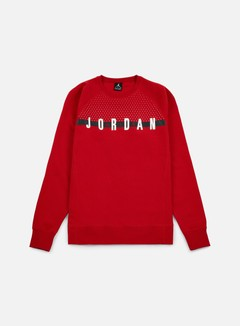 Jordan - Seasonal Graphic Crewneck, Gym Red/White 1
