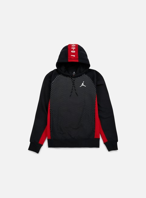 felpe jordan seasonal graphic hoodie black white