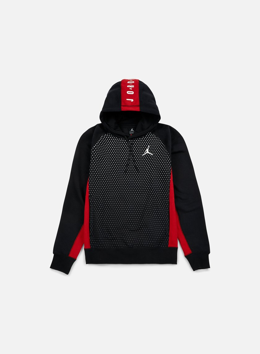 Jordan - Seasonal Graphic Hoodie, Black/White