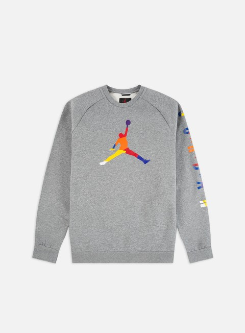 Outlet e Saldi Felpe Girocollo Jordan Sport DNA HBR Fleece Crewneck