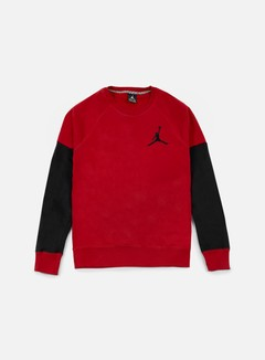 Jordan - The Varsity Graphic Crewneck, Gym Red/Black 1