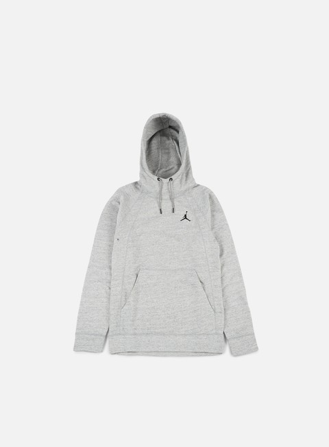 felpe jordan wings hoodie dark grey heather black