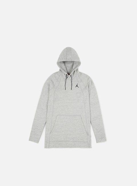 felpe jordan wings lite hoodie grey heather black