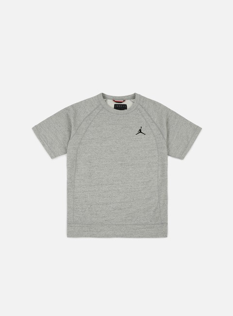 felpe jordan wings ss crewneck dark grey heather black