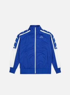Kappa - 222 Banda Ahran Jacket, Blue Royal/White