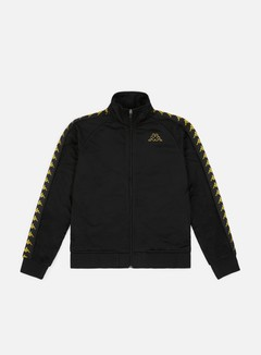 Kappa - 222 Banda Anniston Slim Jacket, Black/Gold