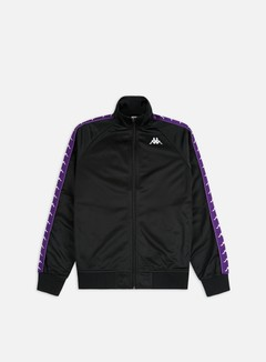 Kappa - 222 Banda Anniston Slim Jacket, Black/Violet