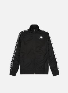 Kappa - 222 Banda Anniston Slim Jacket, Black/White