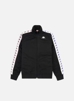 Kappa - 222 Banda Anniston Slim Jacket, Black/White/Violet/Blue