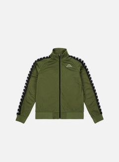 Kappa - 222 Banda Anniston Slim Jacket, Green Cypress/Black