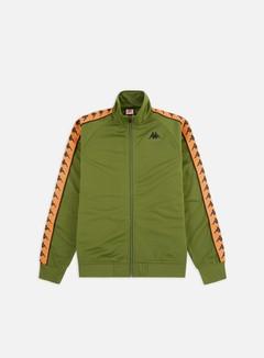 Kappa - 222 Banda Anniston Slim Jacket, Green/Orange