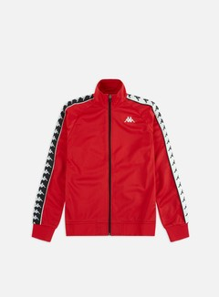 Kappa - 222 Banda Anniston Slim Jacket, Red/Black/White