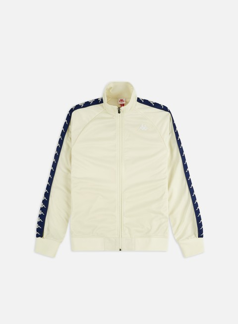 Kappa 222 Banda Anniston Jacket Grey Beige//White Antique