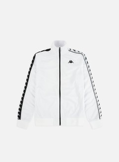 Kappa - 222 Banda Anniston Slim Jacket, White/Black