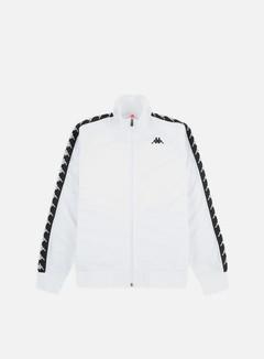 Kappa - 222 Banda Anniston Slim Jacket, White/Black
