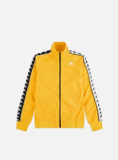 Kappa - 222 Banda Anniston Slim Jacket, Yellow/Black/White