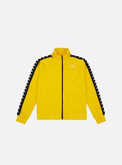 Kappa - 222 Banda Anniston Slim Jacket, Yellow Mustard/Black
