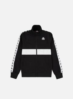 Kappa - 222 Banda Bizol Track Jacket, Black/White