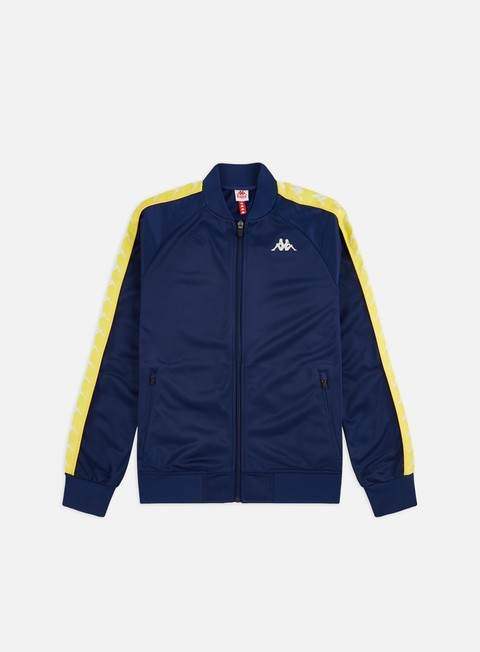 Outlet e Saldi Track Top Kappa 222 Banda Bomber Slim Track Top