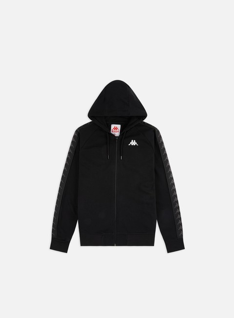 Hooded Sweatshirts Kappa 222 Banda Hankys Zip Hoodie