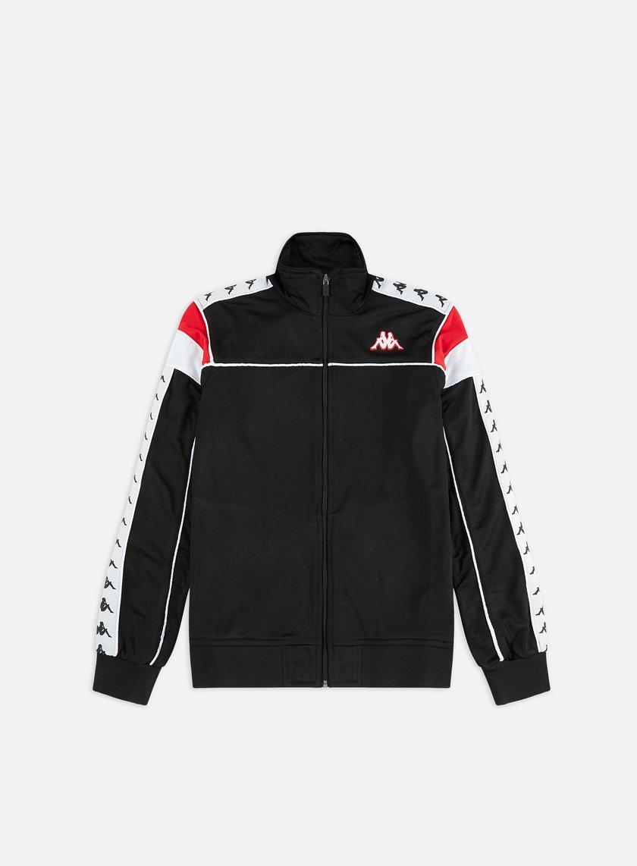 222 Banda Merez Slim White Red Black Track Jacket