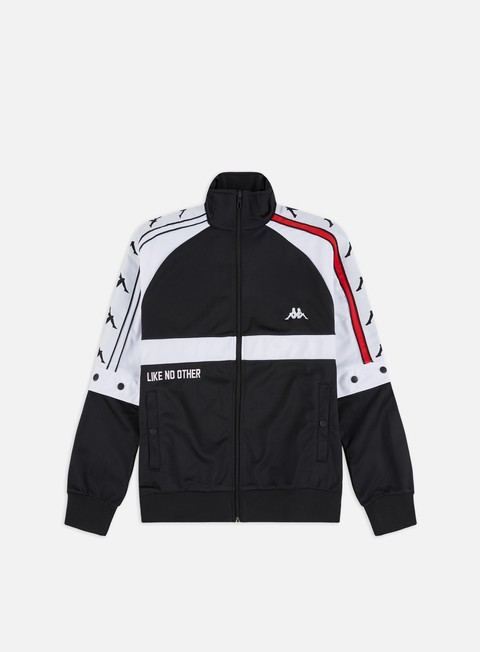 Felpe con Zip Kappa Authentic Bafer Track Top