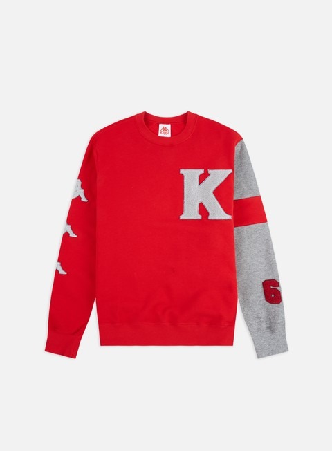 Outlet e Saldi Felpe Girocollo Kappa Authentic Benchi Crewneck