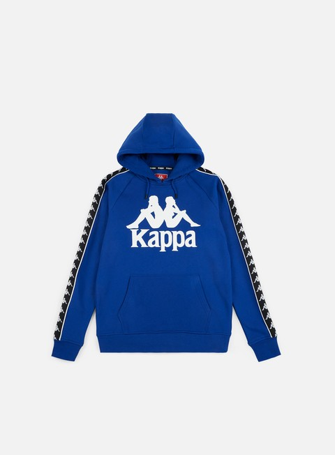 felpe kappa authentic hurtado hoodie blue black