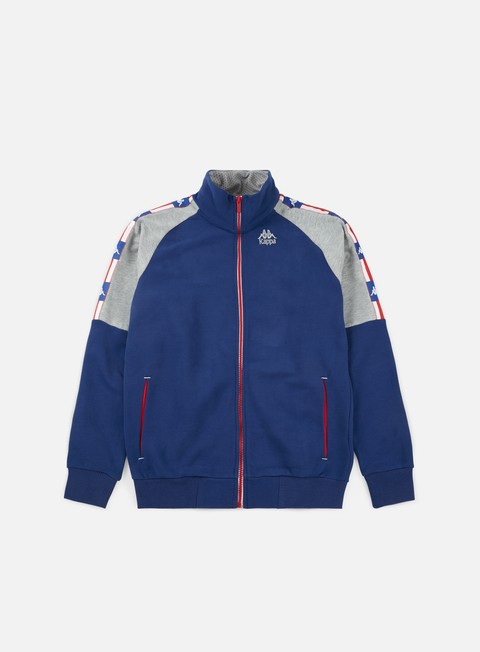 Zip Sweatshirts Kappa Authentic LA 84 Zisma Track Top