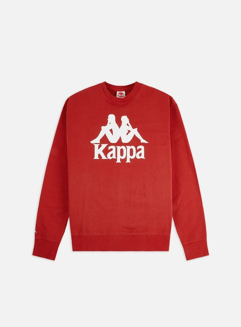 Outlet e Saldi Felpe Girocollo Kappa Authentic Telas Crewneck