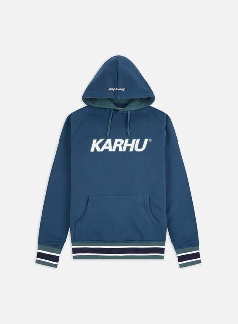 Hooded Sweatshirts Karhu Contrast Raglan Hoodie