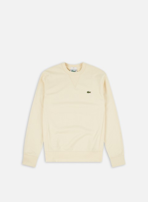 Lacoste Green Crocodile Crewneck