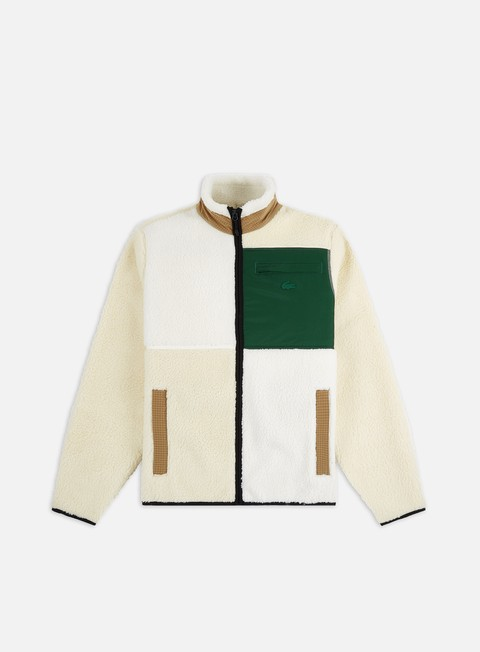 Lacoste Live Color Block Polar  Zip Fleece
